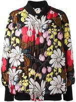 Marni floral bomber jacket
