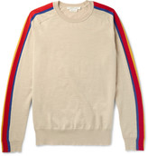 Marc Jacobs - Panelled Virgin Wool-blend Sweater