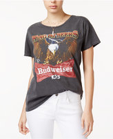 Junk Food Clothing Cotton Budweiser Graphic T-Shirt