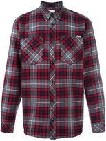 Carhartt plaid button down shirt