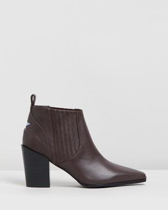 Senso Women's Brown Heeled Boots - Quora - Size One Size, 36 at The Iconic