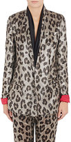 Haider Ackermann Women's Leopard-Print Silk-Blend Jacket