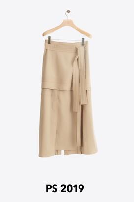 3.1 Phillip Lim Wool Patchwork Skirt
