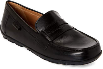 Geox Toddler Boys) Black Fast Leather Loafers