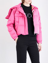Emilio Pucci Cropped shell puffer jacket