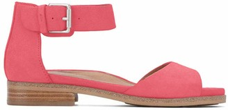 Gentle Souls by Kenneth Cole Women's Gracey Flat Sandal with Ankle Strap Sandal