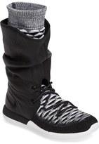 Nike Roshe Two Flyknit Water Repellent Sneaker Boot (Women)