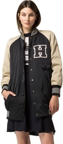Tommy Hilfiger Collection Long Varsity Jacket