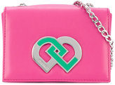 DSQUARED2 DD logo shoulder bag - kids - Polyurethane/Viscose - One Size