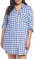 Make + Model Plaid Night Shirt
