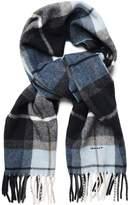 Gant Boy Check Wool Scarf