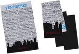 DESIGN IMPORTS Design Imports Nashville Set of 4 Kitchen Towels