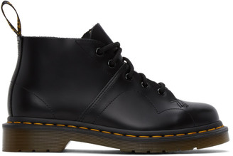Dr. Martens Black Church Monkey Boots