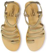 Cocobelle Gold Sicily Leather Sandal