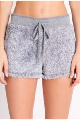 PJ Salvage Grey Cozy Shorts