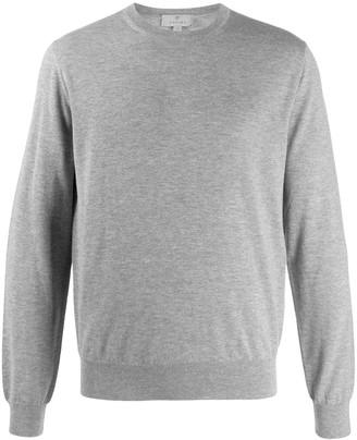 Canali crew-neck cashmere jumper