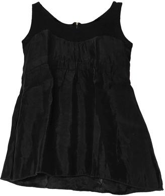 Schumacher Black Wool Top for Women