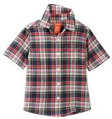 Joe Fresh Short Sleeve Plaid Top (Toddler & Little Boys)
