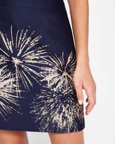 Ted Baker Stardust mini skirt