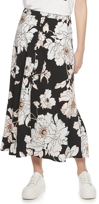 Apt. 9 Women's Button Front Midi Skirt
