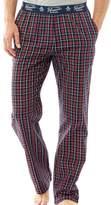 Original Penguin Mens Woven Lounge Pants Dress Blue Check