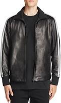 Rag & Bone Leather Track Jacket