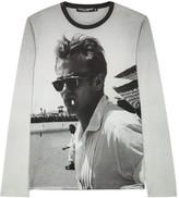 Dolce & Gabbana James Dean Printed Cotton Top