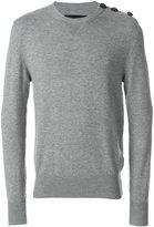 Hydrogen buttoned shoulder sweater