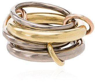 Spinelli Kilcollin 18kt yellow gold Cici four-link ring