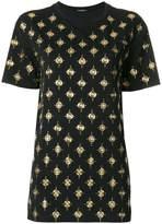 Balmain stone embellished T-shirt
