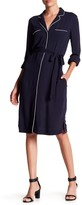 Joe Fresh Piped Shirt Dress