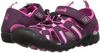 Kamik Crab (Toddler/Little Kid/Big Kid) (Plum) Girl's Shoes