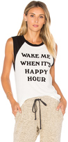Daydreamer Wake Me Up For Happy Hour Tee