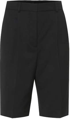 Acne Studios High-rise wide-leg shorts