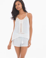 Soma Intimates Little Wing Cotton Cami Shorts Pajama Set