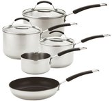 Meyer 5 Piece Stainless Steel Induction Pan Set