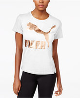 Puma Metallic Logo T-Shirt