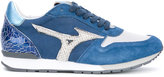 Mizuno printed panelled sneakers - women - Leather/rubber - 36.5