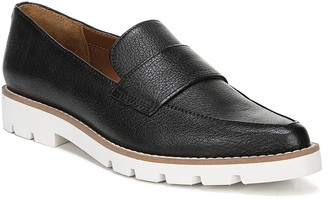 Franco Sarto Lugged Outsole Classic Slip-on Loafers - L Draco
