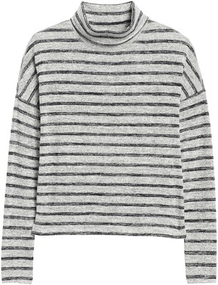 Banana Republic Luxespun Boxy Cropped T-Shirt