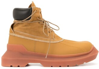 Undercover Chunky Sole Lace-Up Boots