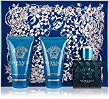 Versace EROS Gift Set for Men 1.7 oz EDT + 1.7 oz Shower Gel + 1.7 oz Aftershave Balm