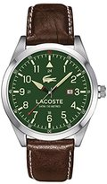 Lacoste Men's 2010781 Montreal Analog Display Japanese Quartz Brown Watch
