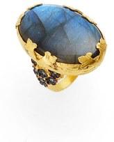 Azaara Women's Labradorite Ring