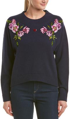 Dolce & Gabbana Patch Cashmere Sweater