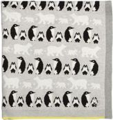 Bonnie Baby Penguins & Polar Bears Baby Blanket