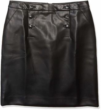 Karl Lagerfeld Paris Women's PU Skirt