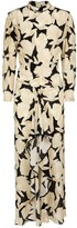 Thumbnail for your product : Rixo Dani printed silk midi dress