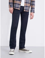 Nudie Jeans Slim Adam slim-fit tapered stretch-cotton chinos