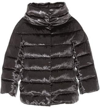 Herno Velvet Effect Down Jacket